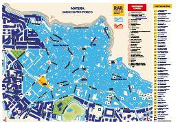 Mappa Matera