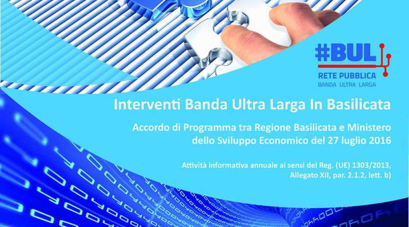 Interventi di Banda Ultra Larga in Basilicata