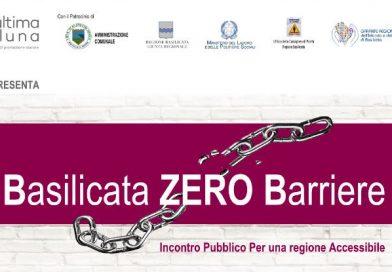 Basilicata Zero barriere – Incontro pubblico 21 Maggio – Scanzano Jonico