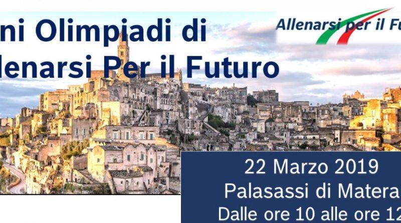 """Workshop """"Allenarsi per il futuro"""" – Regione Basilicata con Bosch e Randstand per favorire la transizione tra scuola e lavoro – 22/03/2019 – Palasassi, Matera"""