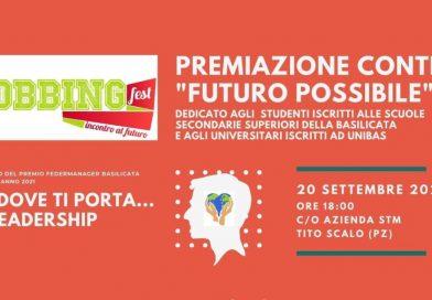"""(Italiano) Premiazione contest """"Futuro possibile"""" – 20/09/2021 presso Azienda STM, Tito scalo (Pz)"""